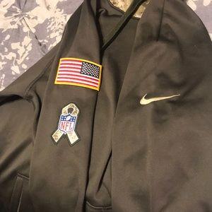 a62baca8c Nike Tops - 2017 Nike NFL Military Appreciation Eagles Jacket